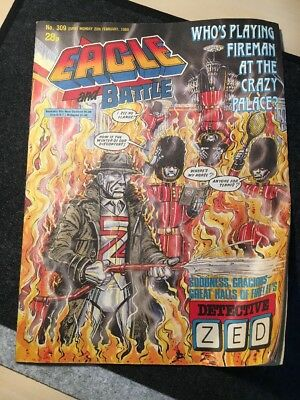 Eagle and Battle Comic 309 20th February 1988