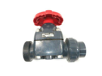 Asahi True Union Pvc Diaphragm Valve 2in Socket