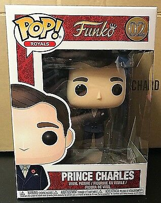 PRINCE CHARLES 02 Funko POP The Royals POP! vinyl figure New In Package