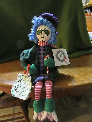 "Hallmark Shoebox ""Maxine"" Plush Shelf Sitter-Christmas-With Tag"