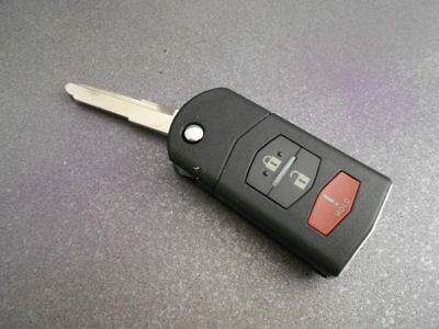 Replacement New Switchblade Folding Remote Key Fob for Mazda 2 3 5 #M4-315