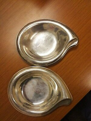 2X  Flair 1847 Rogers Bros. Serving/Tray/Plates
