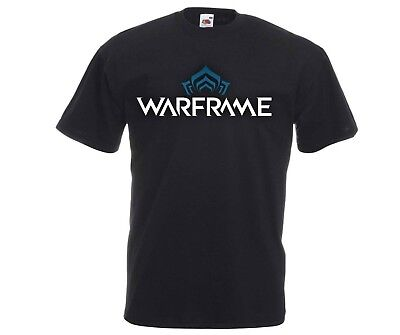 WARFRAME RPG MMO Multi Player Online Shooter Role Playing Game Logo T-Shirt xmas