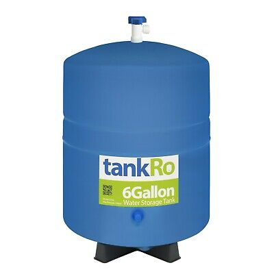 6.0 Gallon Reverse Osmosis Large Water Storage Tank - w/ FREE Tank Ball Valve