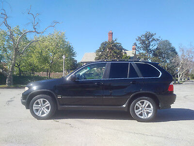 2004 BMW X5 Xclnt V8 4.4L AWD Panoramic Roof 123k NO RESERVE XCLNT 2004 BMW No Reserve 4.4L V8 Sport Only 123k Miles BLACK/BLACK Pano Sunroof