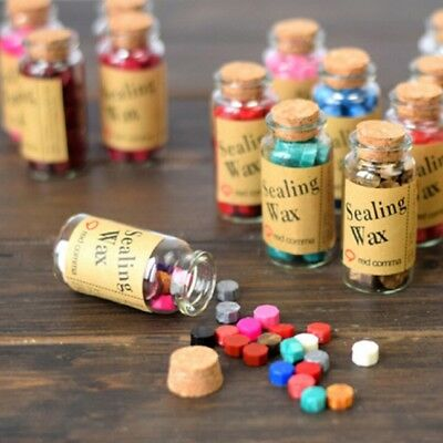 Wax Sealing Beads In Bottle Letters Stamp Seal Melting Wedding Envelope UK