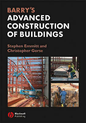 Barry's Advanced Construction of Buildings-ExLibrary