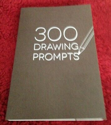 300 DRAWING PROMPTS - Practice Sketch - Sketchbook - Creative Art Drawing New