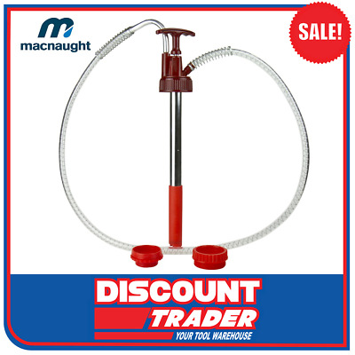 Lubemate by Macnaught Hand Operated Oil Pump Suits 20L Oil Drum - L-DP20J