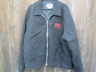 BUFFY VAMPIRE SLAYER Vintage TV Crew Jacket JOSS WHEDON Sarah Michelle Gellar