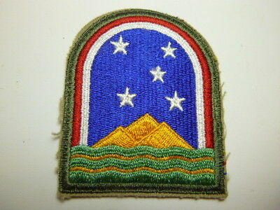 A   WW 2 U S Army South Atlantic Force Cut Edge Snow Back Patch