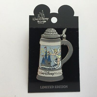 WDW Spotlight Stein Collection Tinker Bell Limited Edition 1000 Disney Pin 57511