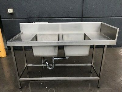 Stainless Steel Bench & Sink