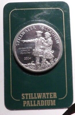 20041oz Stillwater Palladium Round Coin Johnson Matthey .9995 Fine BULLION BAR $