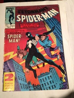 L'etonnant Spiderman # 157/158 Edition Heritage , First Black Costume