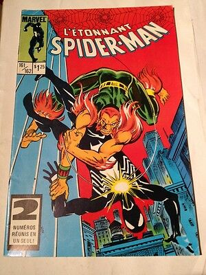 L'etonnant Spiderman # 161/162 Edition Heritage