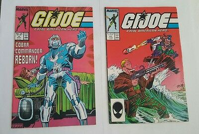 GiJoe # 58, 60 Marvel Comics