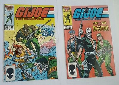 GiJoe # 56, 57 Marvel Comics