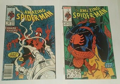 amazing spiderman # 302, 304 high grade