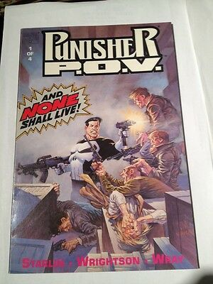 Punisher P.o.v. # 1 ,1991