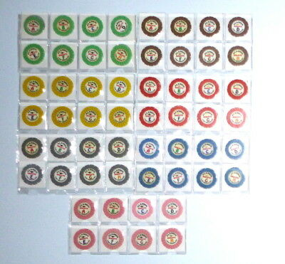 56 Aladdin Casino Las Vegas Nevada Roulette Chips Set - From Estate Collection