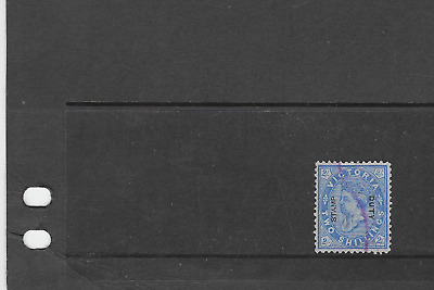 victoria stamp duty used blue 2/-        ref 4s