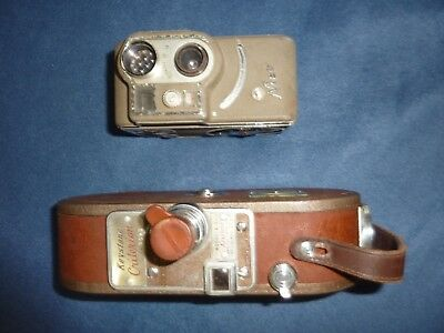 Collectable Vintage movie Cameras, Keystone and Nizo