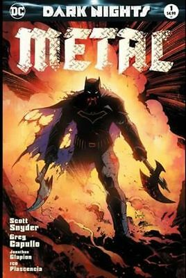 Dark Nights: Metal #1 Greg Capullo Exclusive Cover Variant! LIMITED RUN! *BONUS*