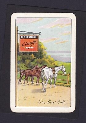 """A Quite Beautiful Vintage Advertising Card Single """"the Last Call"""""""