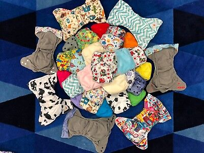 New Super Absorbent Happy Flute Diaper. Size 1.  Fit 6 to 25 lbs,
