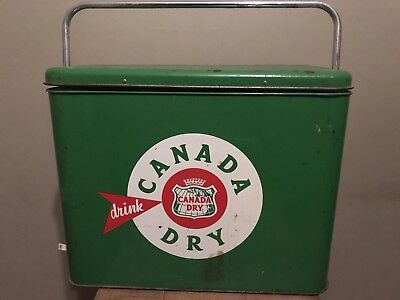Vintage Canada Dry Cooler