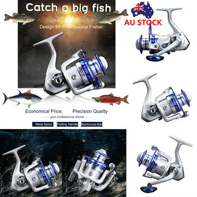 12BB Ball Bearing Spinning Fishing Reels Freshwater Saltwater Surf Carp 5.5:1