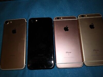 a lot of 4 iphones blacklisted iPhone7 and 3 iphone 6