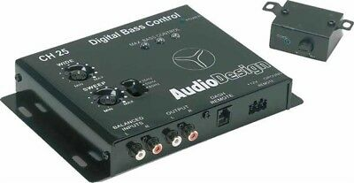 AUDIODESIGN CH 25 By IMPACT - PROCESSORE DIGITALE BASS CONTROLLER