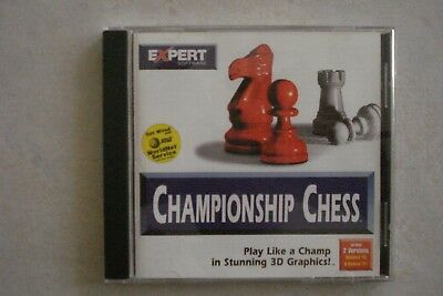 - Championship Chess (Pc Cd- Rom) Brand New (Aussie Seller) Now $18.95
