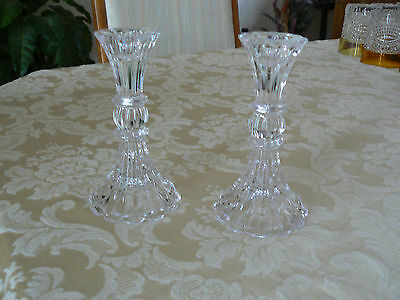 Gorgeous Elegant Pair of Vintage Tall Candle Holders