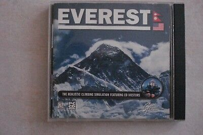 - Everest Climbing Simulation Game (Pc Cd- Rom)  (Aussie Seller) Now $10.95