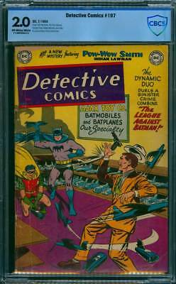 Detective Comics # 197 League Against Batman ! CBCS 2.0 scarce Golden Age book !