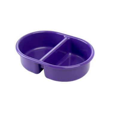 Brand new from The neat nursery co oval top and tail bowl in plum