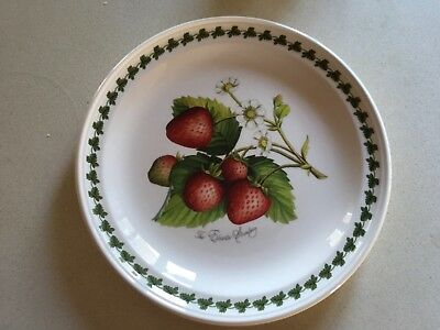 PORTMEIRION POMONA PAIR OF DINNER PLATES - 10:25 inch - STRAWBERRY