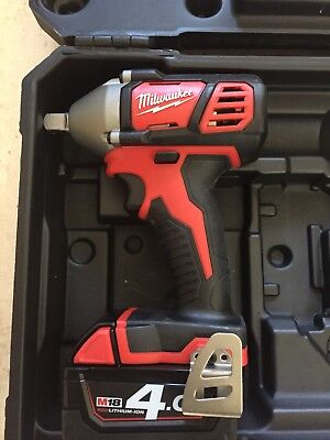 Milwaukee M18 BIW12-0 Compact 1/2in Impact Wrench 18V with one 4AH Battery