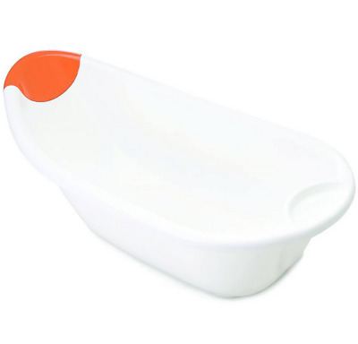 Brand new the neat nursery co ergo bath in white with orange suitable from birth
