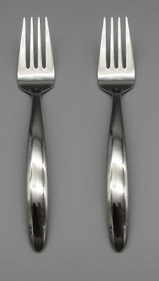 Oneida Stainless CAMLYNN Serving Forks NEW SET OF TWO