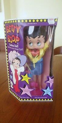 Marty Toy 1986 Betty Boop Fashion Doll New Old Stock NRFP