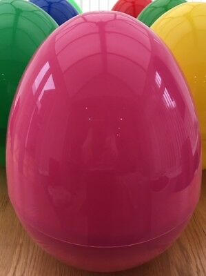 Giant Plastic Hollow Easter/Party/Gift Surprise  Egg Jell Plastics