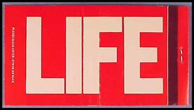 MINT 1960s LIFE Magazine 30s Full Match Book