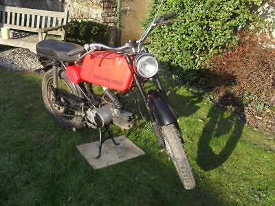 Jawa Mustang 49cc Two Stroke 1979 in running order for restoration.