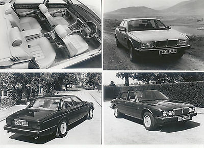 Jaguar XJ40 3.6  4 Photographs Switzerland issued Circa 1986-87