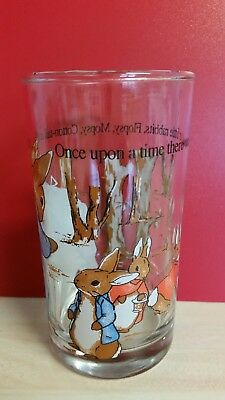 Beatrix potter glass 12cm height