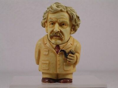 Harmony Kingdom / Ball Pot Bellys / Belly 'Mark Twain' #PBHMT Retired New In Box